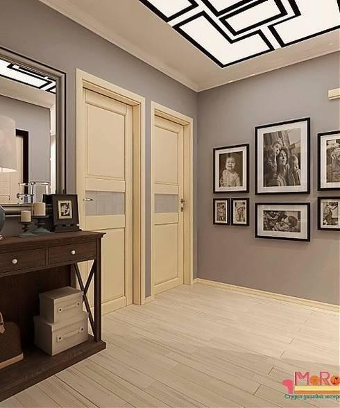 Дизайн проект 2к.кв. в смешанном Американском стиле: Гостиная в . Автор – MoRo