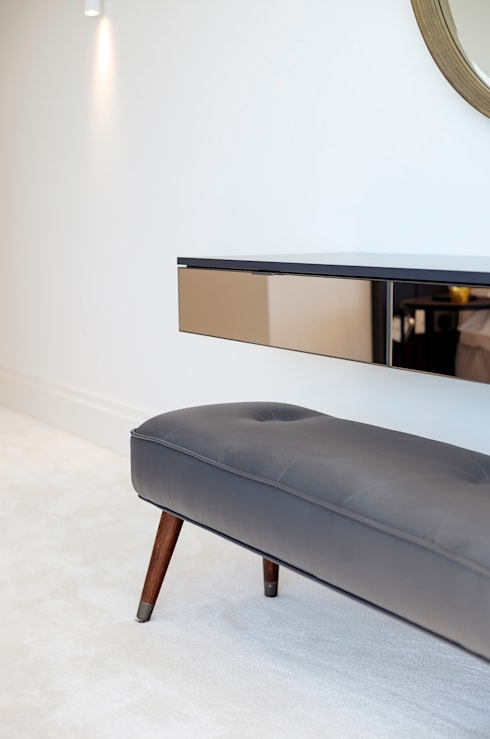 Dressing Table: modern Bedroom by WN Interiors of Poole in Dorset