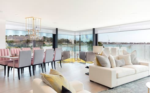 Living Room: modern Living room by WN Interiors of Poole in Dorset