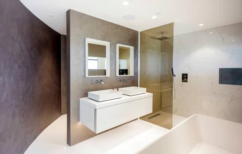 En-Suite: modern Bathroom by WN Interiors of Poole in Dorset