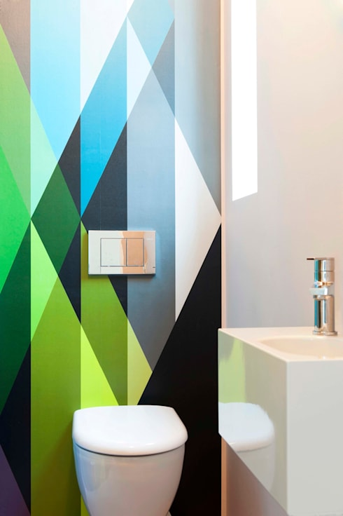Bathroom by Bachmann Badie Architekten