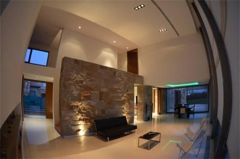 Proyecto VC1: Livings de estilo moderno por CLEMENT-RICO I Arquitectos