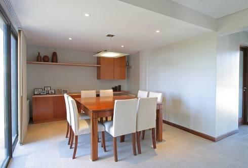 Proyecto D1: Comedores de estilo moderno por CLEMENT-RICO I Arquitectos