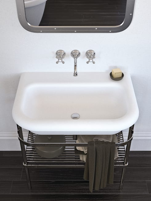 Salle de bain de style  par Mamoli Rubinetteria