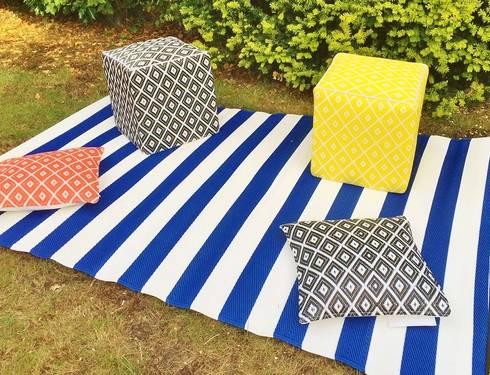 Plastic outdoor/Indoor rugs by Green Decore | homify