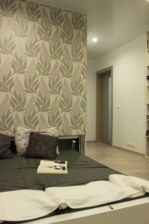 Дизайн-проект двухкомнатной квартиры. Крылатские холмы.: Спальни в . Автор – artzona.ru