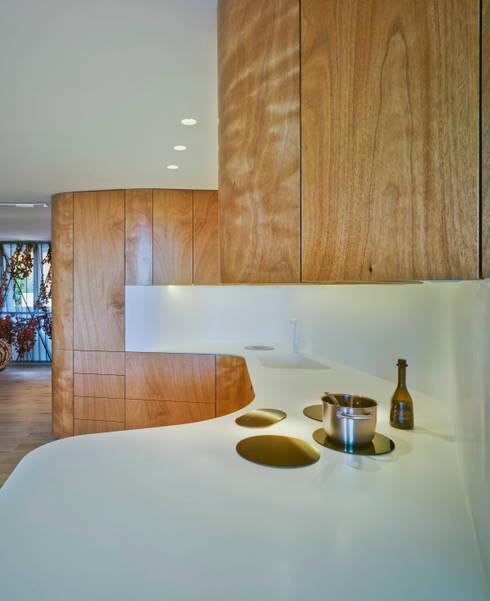 Casa Weston: Cocina de estilo  de WOHA arquitectura