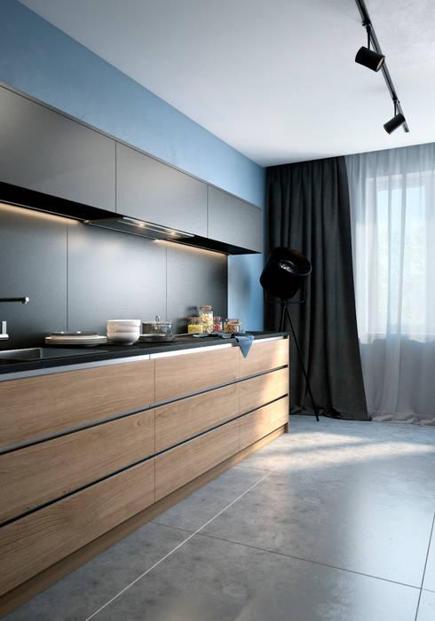 Cocinas de estilo minimalista de VAE DESIGN GROUP™
