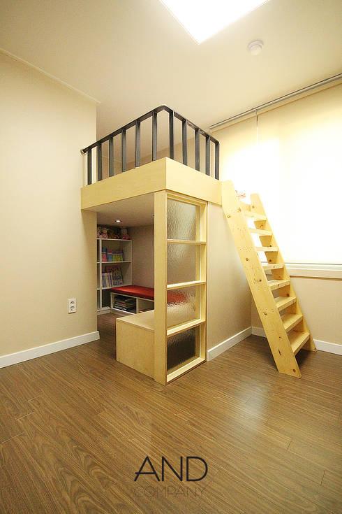 Nursery/kid's room by 앤드컴퍼니