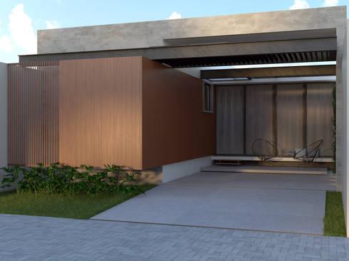 Residência AEF+: Casas modernas por Quattro+ Arquitetura
