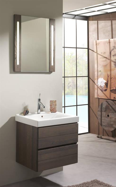Echtholzbadmöbel aus der Serie Pandora by F&F Floor and Furniture ... | {Waschtischunterschrank modern 48}