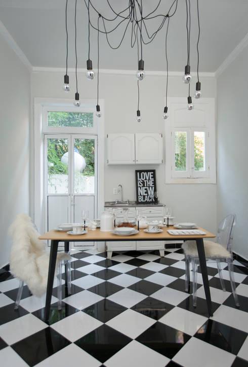 Comedor de estilo  por Gaia Design