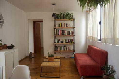 Jungla de libros: Hogar de estilo  por Gaia Design