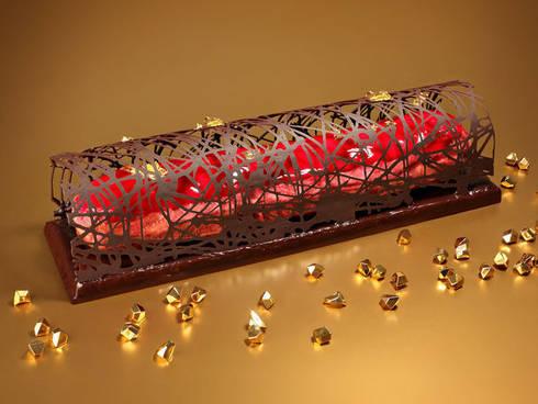 inspiration et sujet la bche de nol - Decoration Pour Buche De Noel