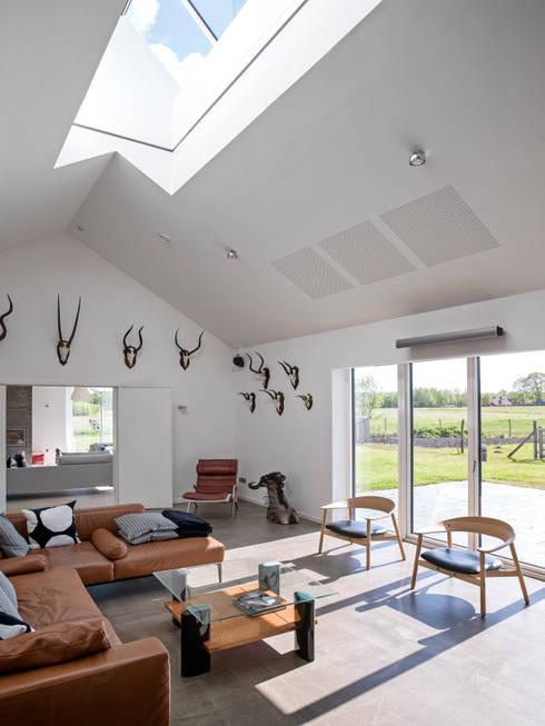 Projekty,  Okna dachowe zaprojektowane przez C.F. Møller Architects