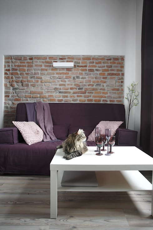 Salas de estar ecléticas por Tarna Design Studio