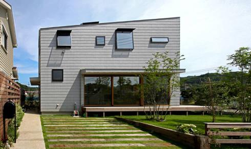 キナリの家: アトリエハコ建築設計事務所/atelier HAKO architectsが手掛けたです。