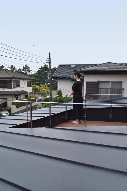バルコニー: FURUKAWA DESIGN OFFICEが手掛けたテラス・ベランダです。