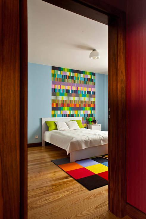 modern Bedroom by tomasz czajkowski pracownia