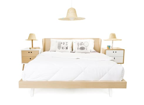 MARIA & NEL bedside tables (standard option): Casa  por DAM