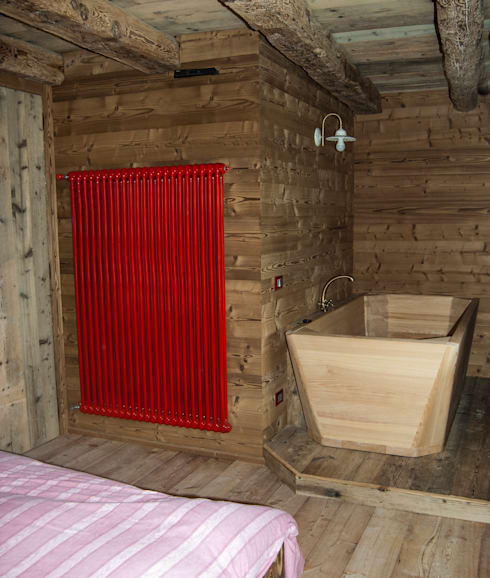 RI-NOVO : rustik tarz tarz Banyo