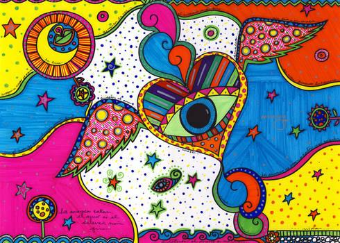 Los amorosos: Arte de estilo  por Bianca Monroy