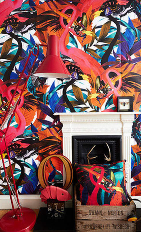 Kristjana S Williams, Andy Palmer Garden Wall Mural:  Walls & flooring by Dust