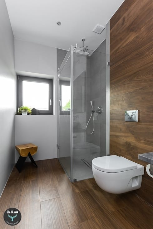 scandinavian Bathroom by stabrawa.pl