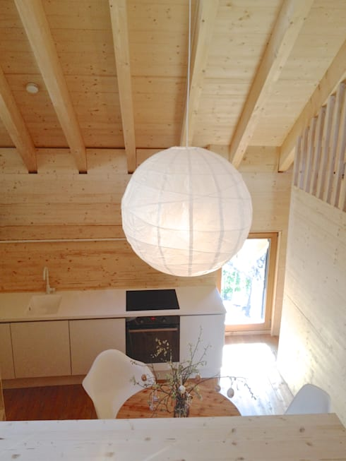 Küche im Obergeschoss:  Küche von André Rösch Architekt