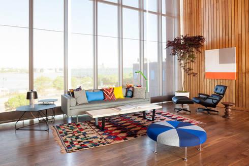 Herman Miller Collection: Salas de estilo moderno por Herman Miller México