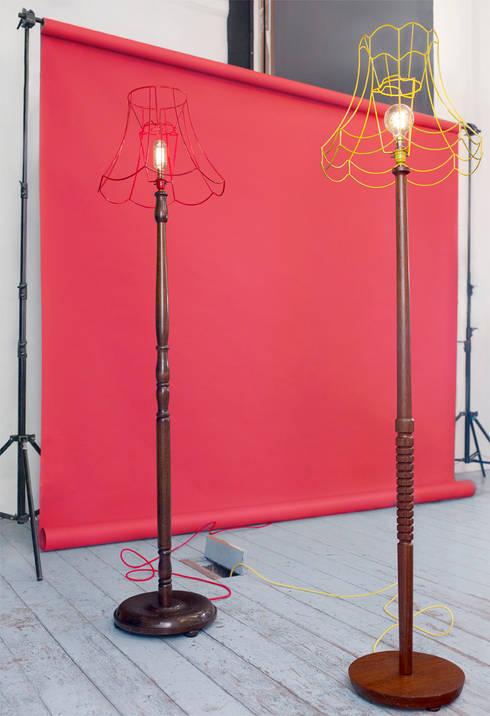 Projekty,  Salon zaprojektowane przez Donna Walker Design