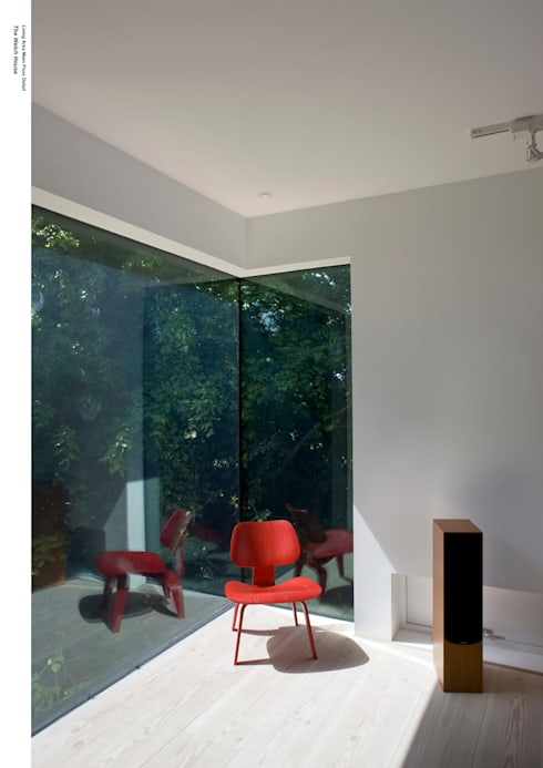 Welch House: modern Living room by The Manser Practice Architects + Designers
