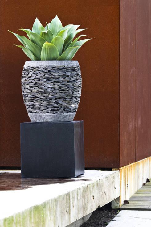 Terrazzo Sockel:  Garten von Solits - Sockel und Säulen