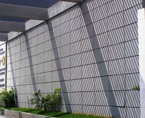 ERODE CREMATORIUMS: modern Houses by Muraliarchitects