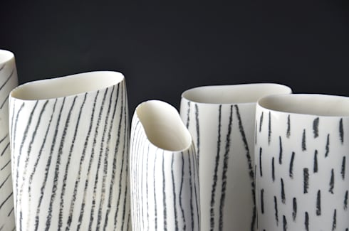 Study of patterns:  Artwork by Katharina Klug Ceramics