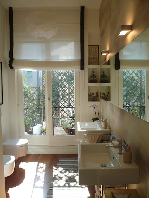 Appartamento a Milano: Bagno in stile in stile Moderno di Karin Künzli