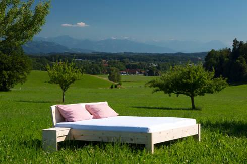 ein bett im kornfeld von schreinerei haas mathias homify. Black Bedroom Furniture Sets. Home Design Ideas