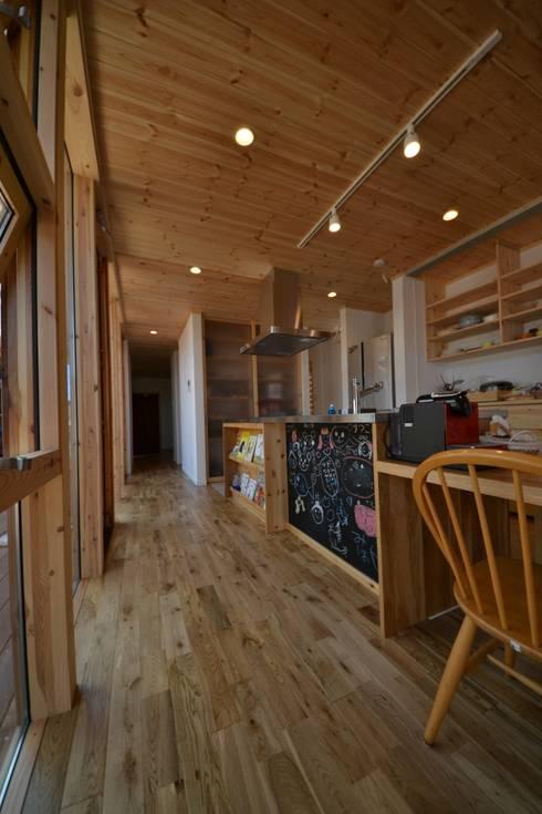 Taketoyo U House: 木の家株式会社が手掛けたキッチンです。
