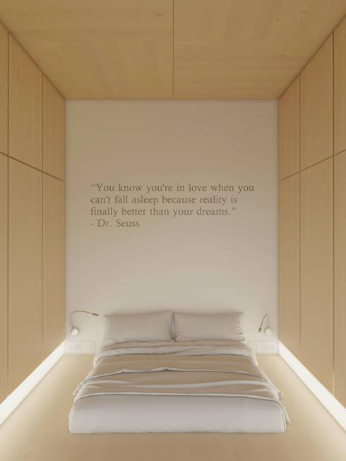 Anton Medvedev Interiors의  침실