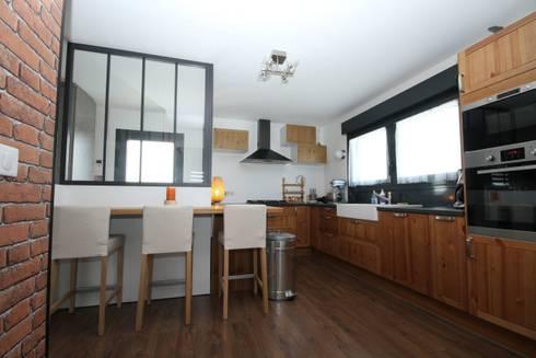 ambiance loft sur reims par agence c design claire bausmayer homify. Black Bedroom Furniture Sets. Home Design Ideas