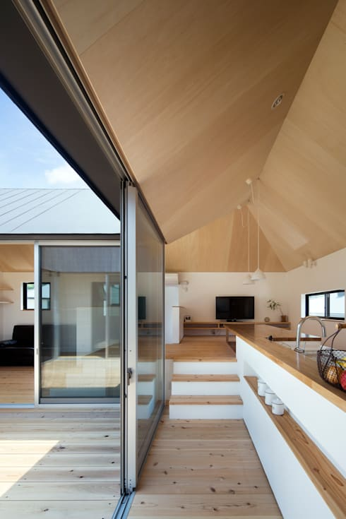 Terrasse von 安部秀司建築設計事務所