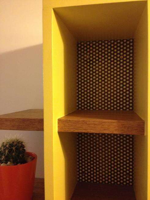 Fond du vide poche: Couloir, entrée, escaliers de style de style eclectique par POSITIV'AGENCEMENT