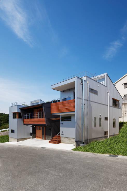 外観: 建築工房 at easeが手掛けた家です。