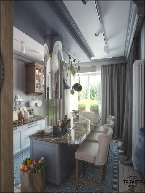 Квартира в Санкт-Петербурге: Кухни в . Автор – ToTaste.studio