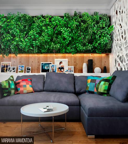 Livings de estilo escandinavo por Dizzy Interior