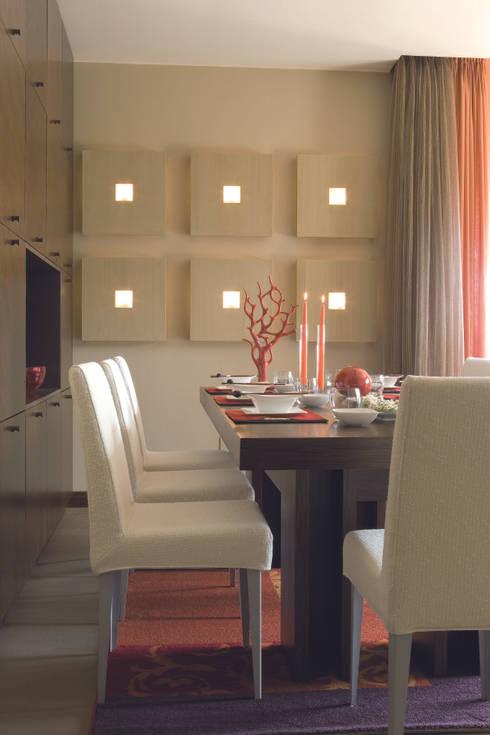 Sala da pranzo: Sala da pranzo in stile in stile Moderno di PDV studio di progettazione