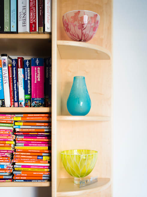 Phòng học/Văn phòng by Worsley Woodworking