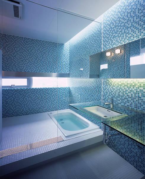 アトリエ環 建築設計事務所의  욕실