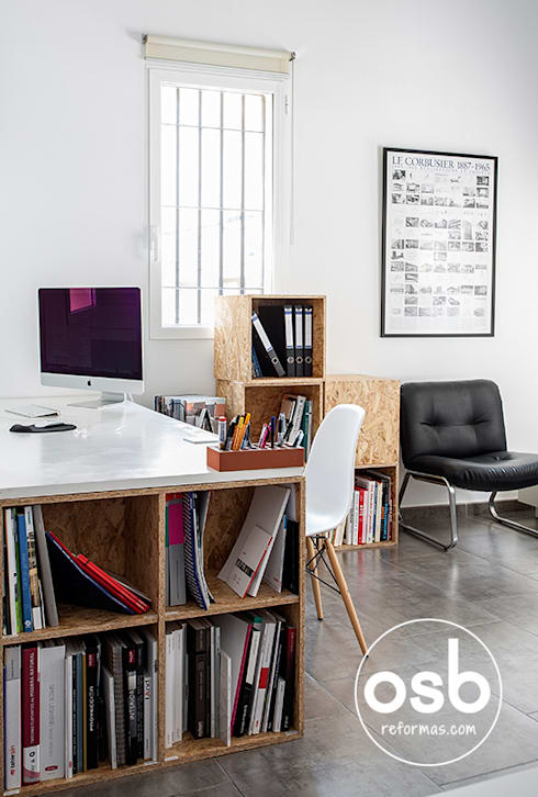 Oficinas y tiendas de estilo  por osb reformas