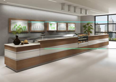 Banco bar cm 300 base retro e base retro for Torino arreda contract